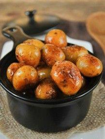 Patatas caramelizadas islandesas